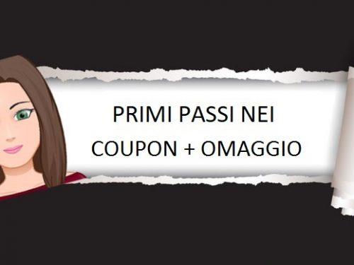 Primi passi nei coupon + coupon omaggio