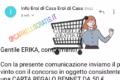 Vincita CARTA REGALO  50€ Bennet