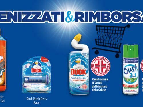 Igienizzati & Rimborsati: spendi 7€, ti rimborsano 7€
