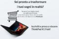 Vinci gratis Lenovo ThinkPad X1 Fold