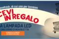 Aquafresh ti regala la lampada led Nuvola/Unicorno