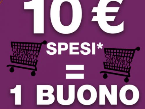Buono spesa da 4€ in prodotti P&G