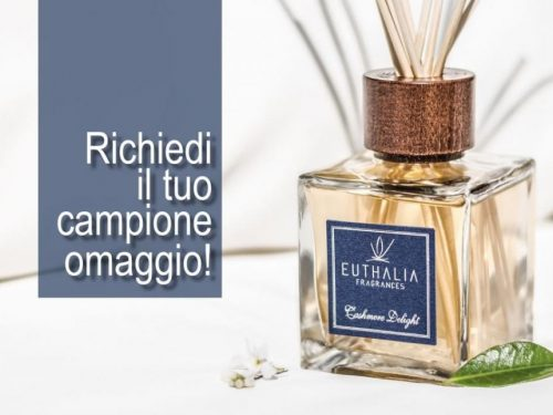 Ricevi gratis a casa tua tutte le fragranze della collezione Euthalia Fragrances.