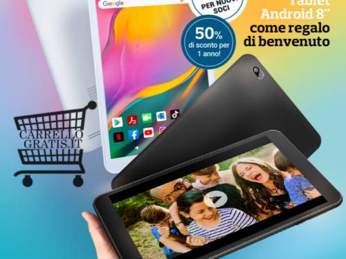"""Ricevi il Tablet Android 8"""" e provi i servizi di Altroconsumo"""