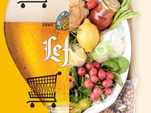 """Premio sicuro: """"Cucina con Leffe"""" ricevi box alimentari da 25€"""