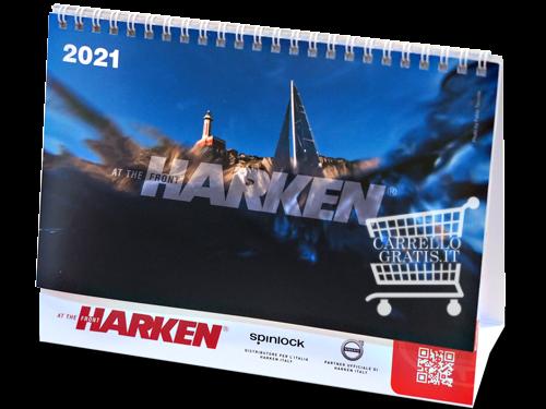 Ricevi gratis il Calendario da Tavolo Harken 2021