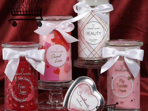 Vinci gratis San Valentino con JewelCandle