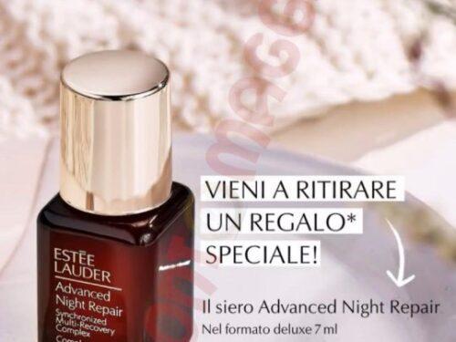 Ritira gratis minitaglia siero Estee Lauder Advanced Night Repair