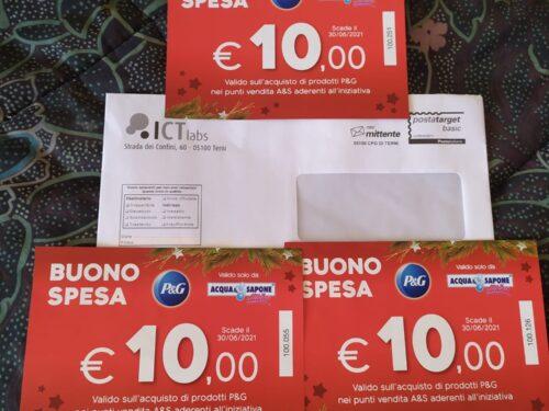 30€ buoni spesa Acqua & Sapone