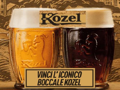 Kozel Premio Certo 2021: come richiedere il boccale da birra