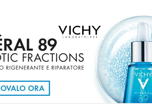 Diventa tester: Vichy MINÉRAL 89 PROBIOTIC FRACTIONS