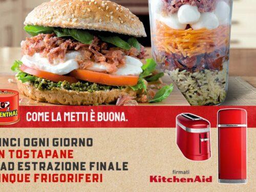 Simmenthal: vinci ogni giorno tostapane e 5 frigoriferi KitchenAid