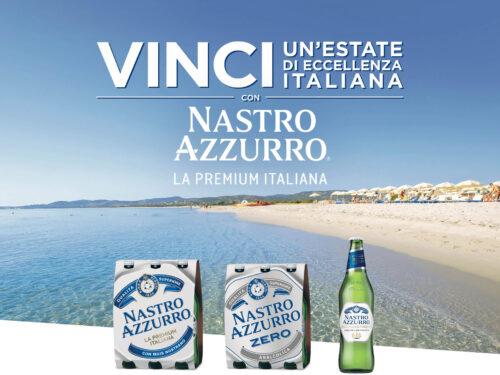 """""""Estate di eccellenza con Nastro Azzurro"""": vinci calici birra e super vacanza in Italia!"""