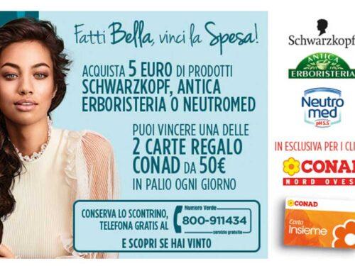 """Fatti Bella, Vinci la Spesa!"" vinci 50€ in carte prepagate"