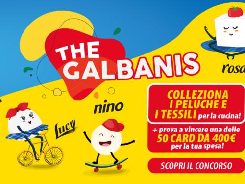 """Raccolta Galbani """"The Galbians"""" richiedi premi sicuri e vinci 400€ di buoni"""