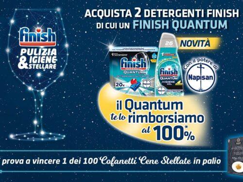 """""""Pulizia & Igiene stellare""""  finish ti rimborsa al 100%"""