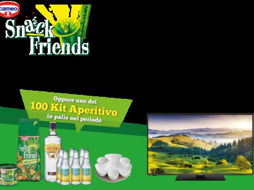 """""""HAPPY HOUR HAPPY FRIENDS""""vinci TV Panasonic da 43""""  e 100 Aperitivi"""