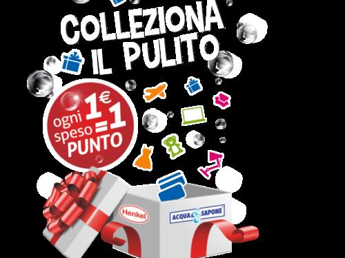 """""""COLLEZIONA IL PULITO 2021"""" richiedi premi sicuri"""