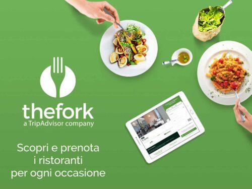 The fork risparmia 20€ e 50€ prenotando una cena