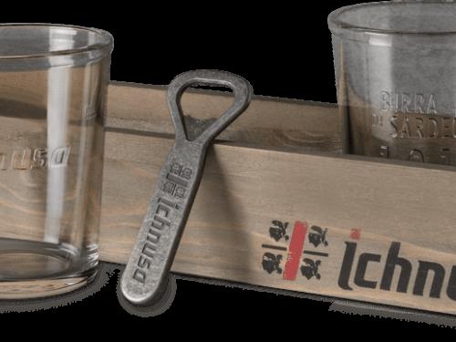 """Premio sicuro: """"ICHNUSA – IN REGALO IL NOSTRO KIT"""" ricevi vassoio, bicchiere e apribottiglie"""