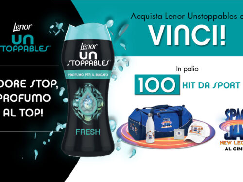 Con Lenor Unstoppables vinci 100 Kit Warner Bros