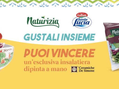 """Naturizia e Santa Lucia vinci insalatiere dipinte a mano """"L'accoppiata vincente…"""""""