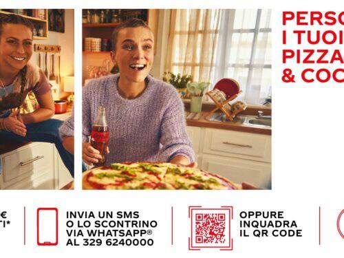 """""""Personalizza i tuoi momenti con Pizza e Coca-Cola"""" VINCI set di 6 bicchieri personalizzati"""
