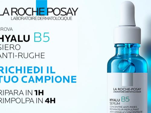La Roche Posay Hyalu B5 Siero richiedi il tuo campione omaggio