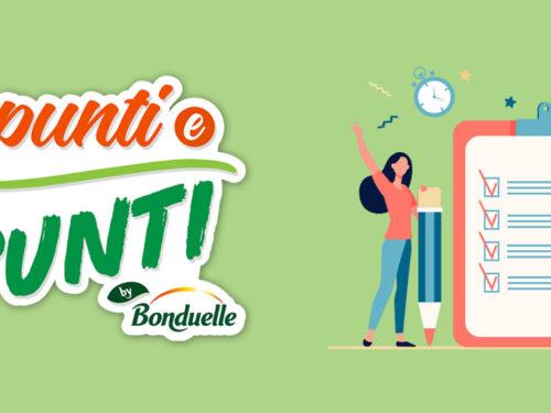 Appunti e Spuntiby Bonduelle vinci shopping card da 15€ a 50€