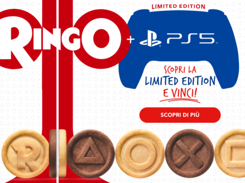 """Ringo """"SCOPRI LA LIMITED EDITION E VINCI"""" vinci Playstation 5"""