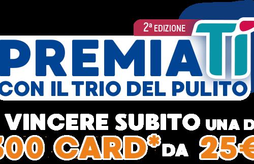 """""""Premiati con il trio del pulito – 2^ edizione"""" vinci 1 gift card Tigotà del valore di 25€"""