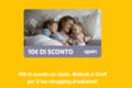 Codice sconto 10€ su Upim, Blukids e Croff